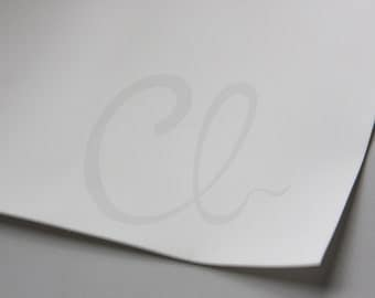 One Piece Plastic Sheet - Silicone Sheet