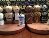 ONLY 2 left! Star Wars - Set of 8 miniature ornaments