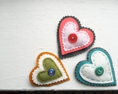 Simply Sweet Hearts Pins, Valentine Gift