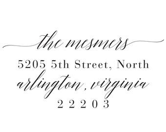 Return Address Stamp Style #5