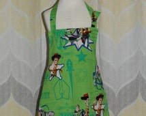 Toy Story Buzz & Woody Kids size Kitchen Apron - FREE or PRIORITY Shipping