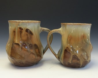 Autumn Frost Swirly Mug #3