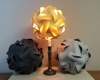 "12""14"" & 15 "" Le Elegance Entwined Panels Lamp Shade"