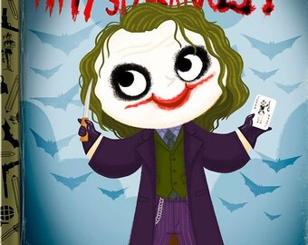 Why So Serious? - 8x10 PRINT