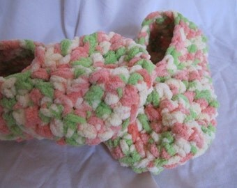 Sherbert Cloud Ballet Style Slippers - Medium 7/8 (5195)