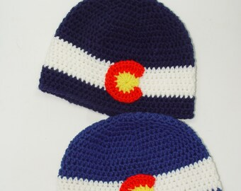 Colorado Flag Hat - Toddler, beanie