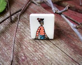 Scrabble Tile adjustable ring