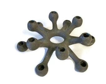 Dansk cast iron spider candle holder - Modernist - Original box - Jens Quistgaard