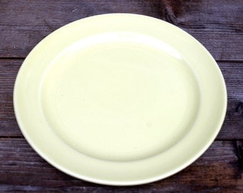 Lu Ray Pastel Yellow Plate