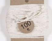 Bakers Twine, 100 ft. Natural White Twine, Packaging Twine