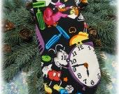 Rare Disney Mickey Mouse Donald Minnie Goofy Neck Tie Vintage Balancine Necktie Silk 57x4