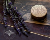 Vera Lavender Natural Solid Perfume Compact - Organic Fragrance - Woven with notes of Honey, Orange Blossom and the Pacific sea breeze.