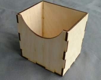 One Storage Box for 3x5 Sandpaper Numbers 0-10