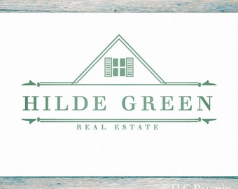 Realtor Logo Design, Realty Logo,  Real Estate Logo, Business Logo,  Premade Logo, Contractor Logo,  Interior Designer Logo, House Logo