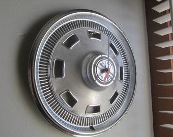 1967  Dodge Charger Hubcap Clock no.2472