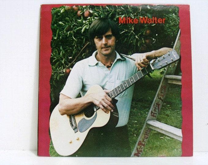 Mike Walter Mr. Pruitt's Apple Farm Record LP Album, Folk Psych Rock Private Label Press