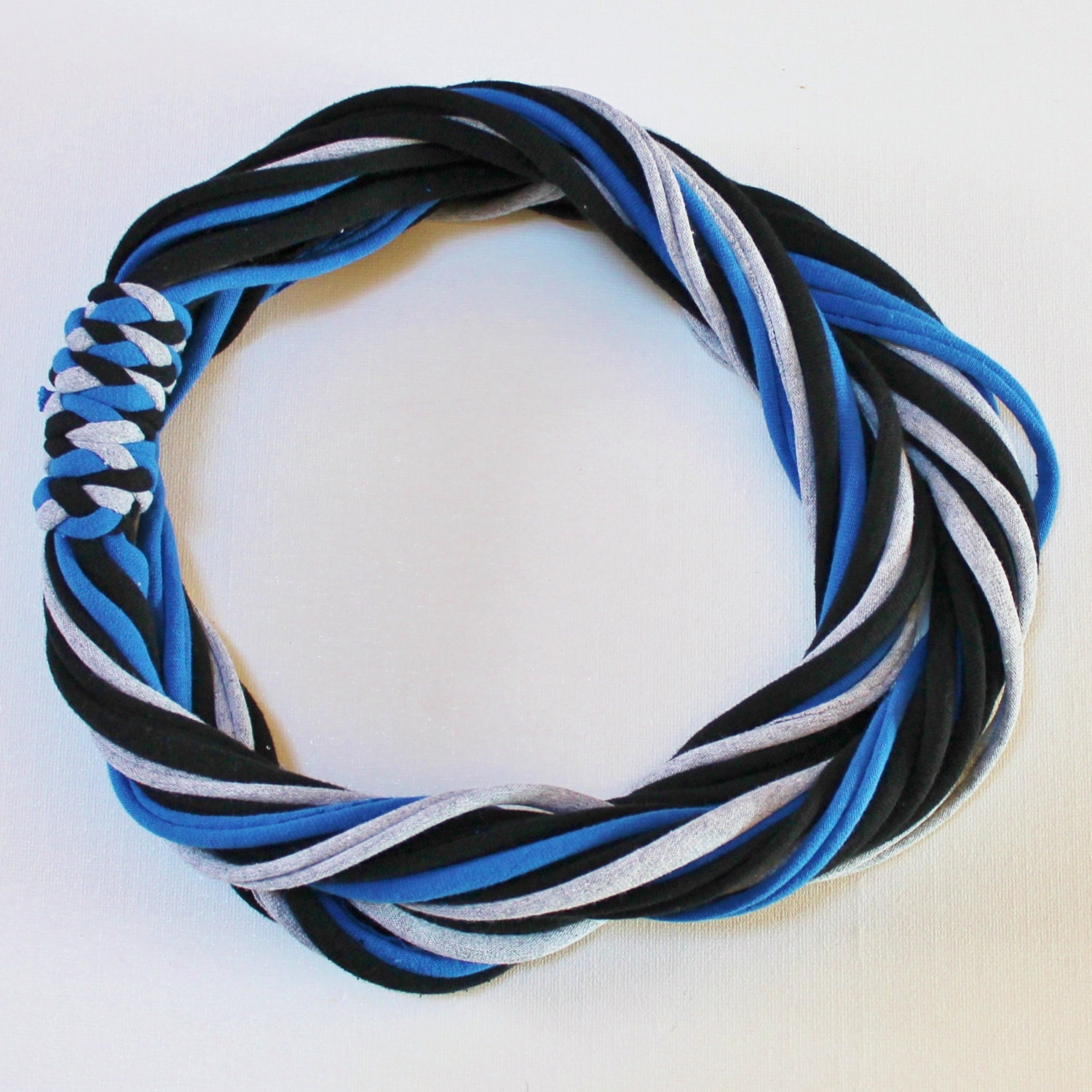 T Shirt Scarf Infinity Circle Scarves Recycled By