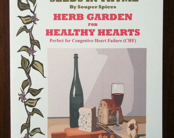 NEW! Herb Garden for Healthy Hearts Kit! Grow You Own Herbs & Spices. Comes with Complete Directions! Great Gift for all occasions!
