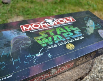 Factory Sealed Star Wars Monopoly Limited Collector's Edition