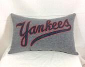 Decorative Pillows, Couch Pillows, Decorative Throw Pillows, Bed Pillows, Decorative Bed Pillows, Yankees Baseball Pillows, Accent Pillows
