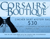 Cincher Skirt Mystery Grab Bag