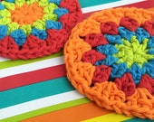 Happy Starburst Scrubbies (set of 2)