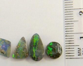 Boulder Opal, Natural Australian Opal Parcel, Free Shipping - Item 2405163