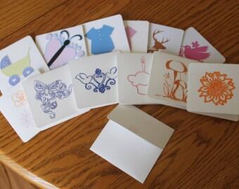 Mini-Cards -- Set of 12