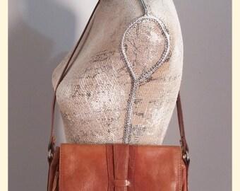 CLEARANCE SALE Vintage Leather Shoulder Bag
