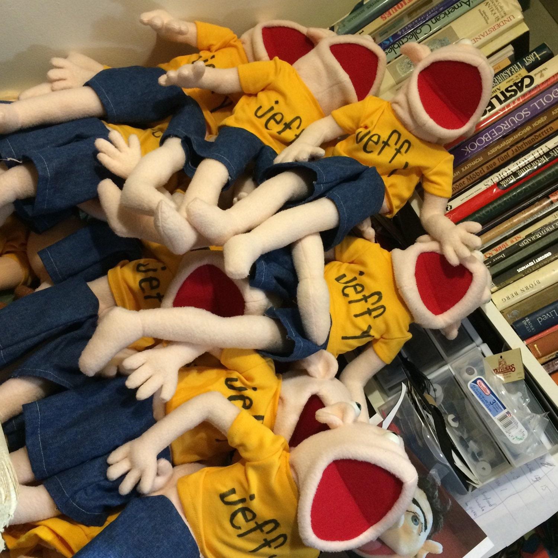 Small Jeffy Jeffy Puppet from SML Youtube movies