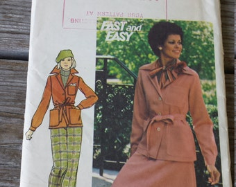 Butterick Misses Jacket, Skirt and Pants Pattern 4484 size 14