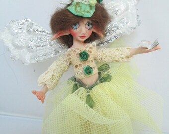 ooak fairy elf art doll