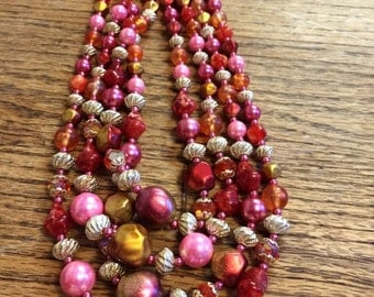 Multi strand made in japan necklace