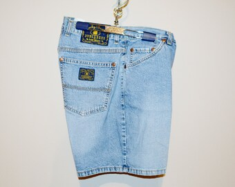 Vintage Shorts Denim Lucky Brand Painter Style