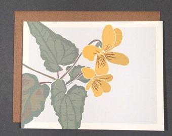 Yellow Violet Card Set
