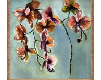 Orchids Square Tray