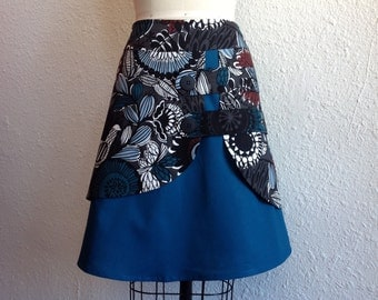 Alberta double layer skirt Sz 2