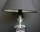 Whiskey Recycled Bottle Lamp 1Liter