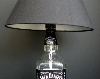 Whiskey Recycled Bottle Lamp 1Liter