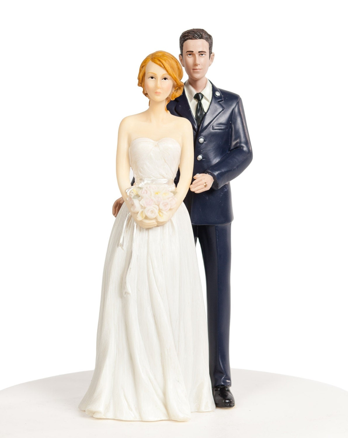 military wedding cake toppers air force air wedding cake topper caucasian by weddingcollectibles 17373