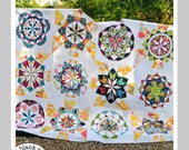 Celestial Star Collection #222 - 12in Paper Piecing Quilt Pattern PDF