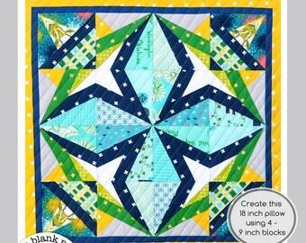 Rockstar #228 - 6 inch - Paper Pieced Quilt Pattern