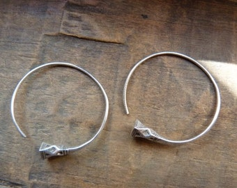 Tuareg hoop earrings