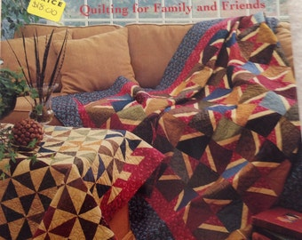 Joined at the Heart Quilting for Family and Friends Pattern Book