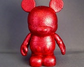 """Ruby Red Mouse 3"""" Vinylmation and Pretty in """"Red"""" Miss Mouse 3"""" Vinylmation"""
