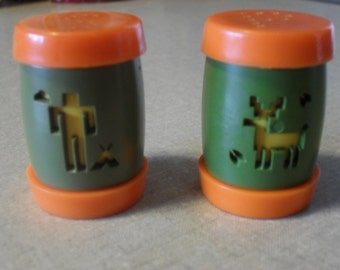 St. Labre Indian School Salt and Pepper Shakers, 1960s