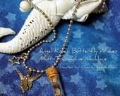 ON SALE Tourmaline Mix Fairy Gemstone Pendant