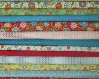 Bloom'in Fresh Fabric - Half Yard Bundle - Moda - Deb Strain