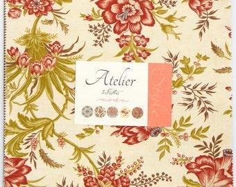 SALE Atelier Layer Cake Fabric - 3 Sisters - Moda