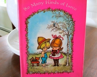 Valentine for Kids So Many Kinds of Love 1968 Illustrated Hallmark Childrens Book Love Family Inclusion Diversity Gift Children Hardcover